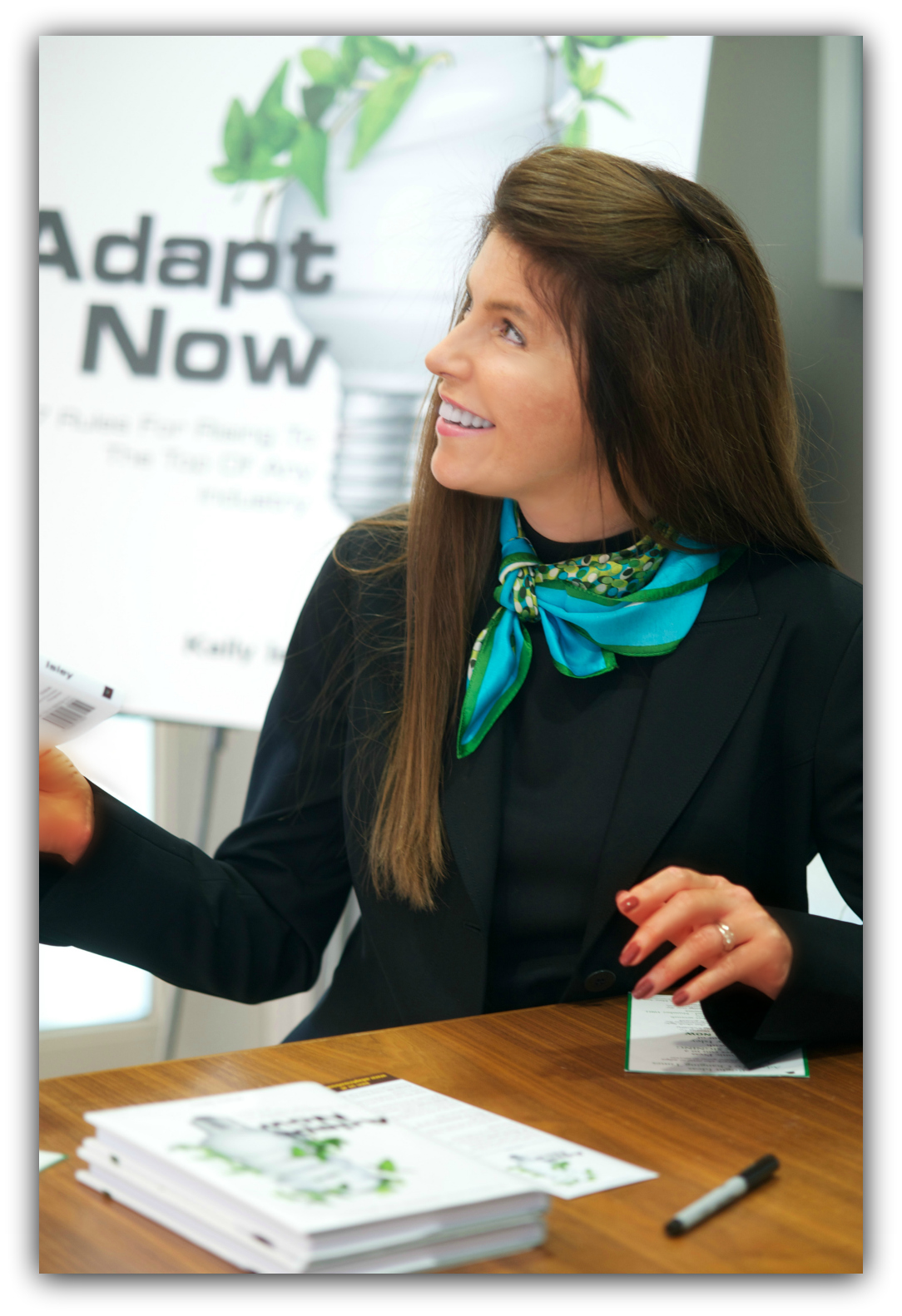 Adapt Now book signing with author Kelly Isley
