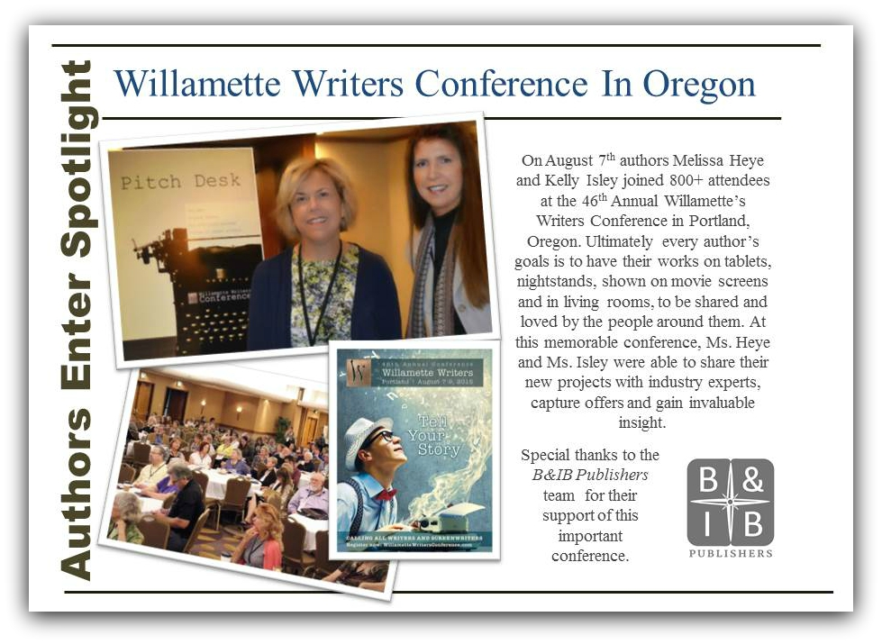 Authors Enter Spotlight At Willamette Writers Conference